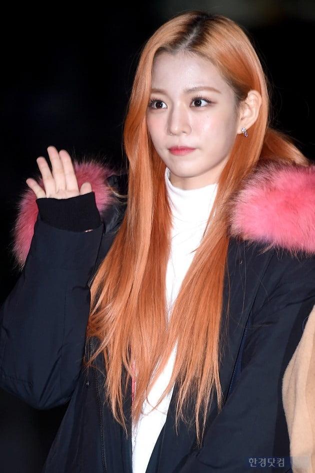 [포토] 프로미스나인 이채영, '두 눈 동그랗게 뜨고 예쁨 과시'