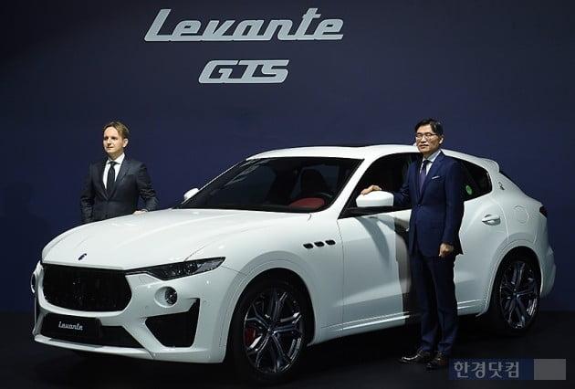 [포토] 마세라티, 럭셔리 슈퍼 SUV '르반떼 GTS' 출시