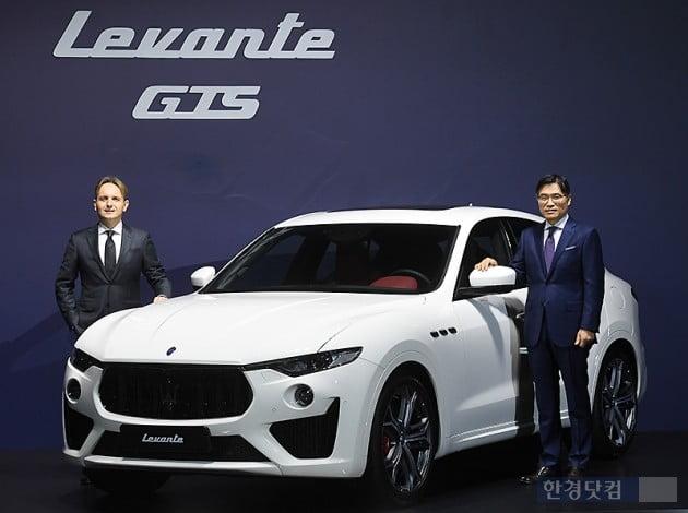 [포토] 마세라티, V8 엔진 탑재한 '르반떼 GTS' 출시
