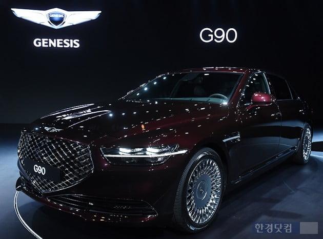 [포토] 새롭게 태어난 '제네시스 G90' 출시