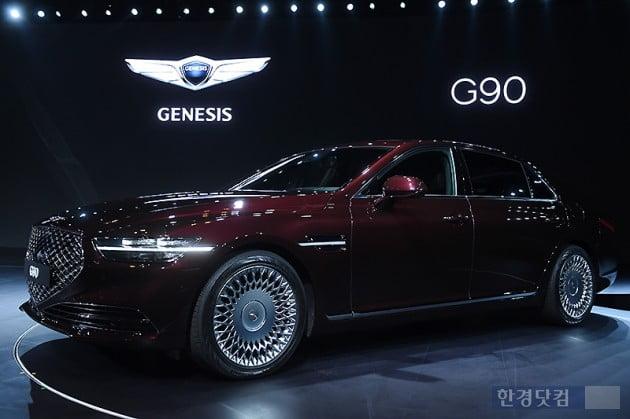 [포토] 현대차, 플레그십 세단 '제네시스 G90' 출시