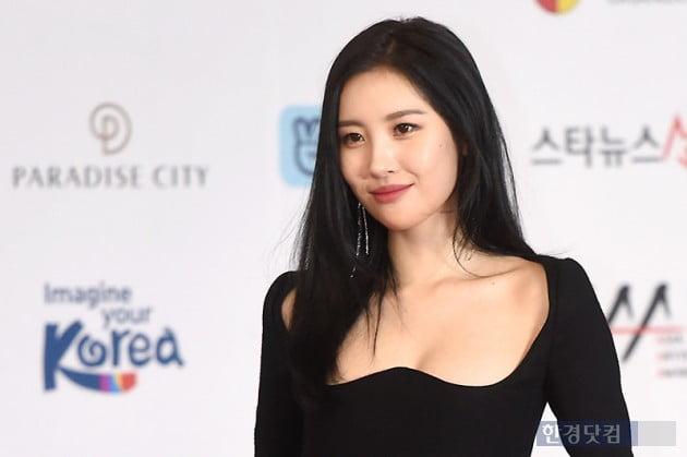 [포토] 선미, '아름다운 모습에 시선강탈' (2018 AAA)