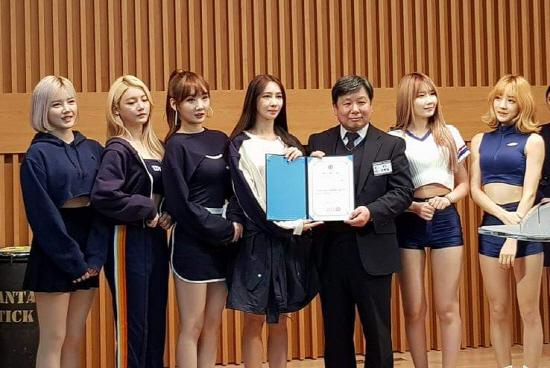 """걸그룹 위걸스 """"저희가 성결대 XR센터 홍보대사예요"""""""