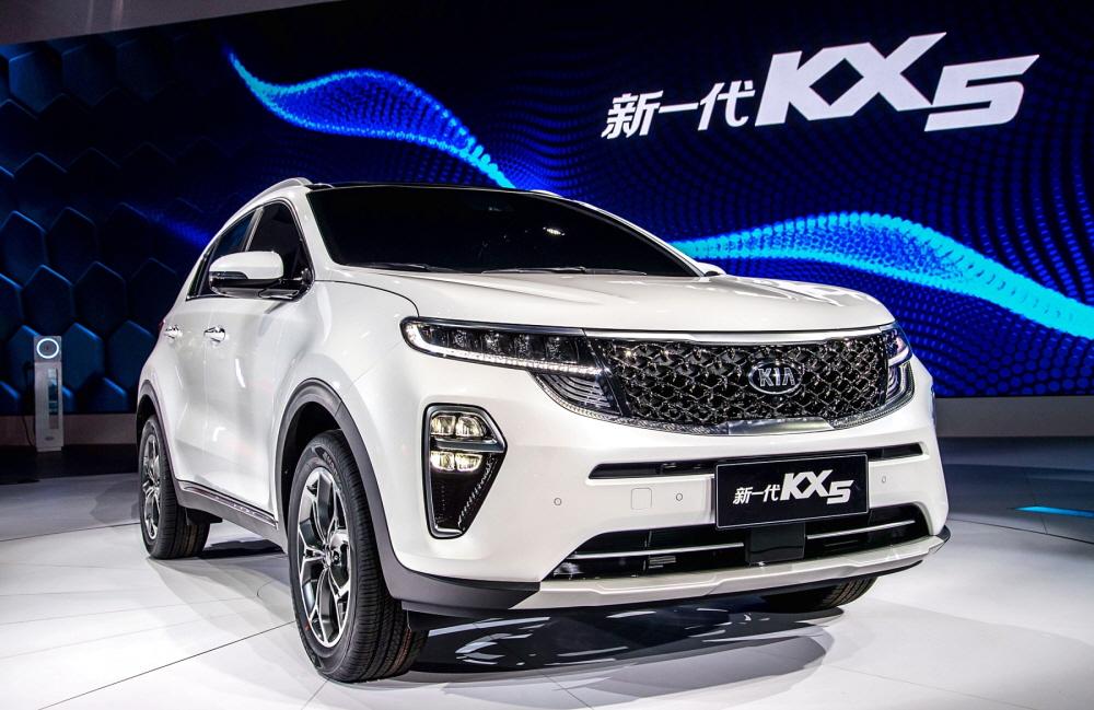 기아차, 2018 광저우 모터쇼에 '더 뉴 KX5' 내놔