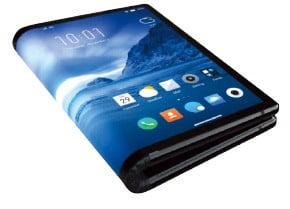 세계 최초 폴더블 스마트폰…中 로욜이 개발