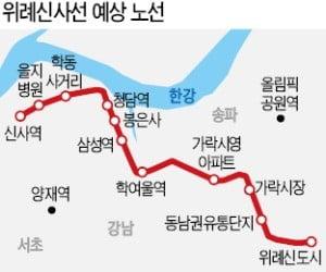신림선·동북선 등 철도망 사업에 내년 4181억원 투입