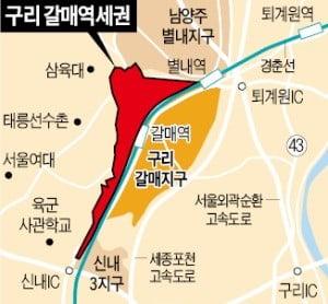 """""""갈매역세권 자체개발 재추진"""""""
