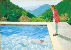 [그림이 있는 아침] 데이비드 호크니 '예술가의 초상'