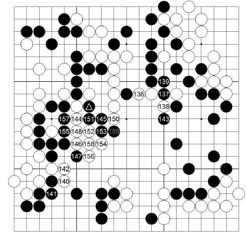 [제23기 하림배 여자국수전] 黑 , 승부수