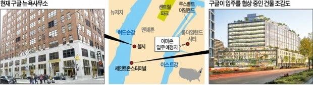'기업 천국' 뉴욕…아마존 이어 구글도 '제2 본사' 깃발 꽂는다