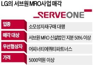 [단독] LG그룹 MRO사업, 어피너티에 팔린다