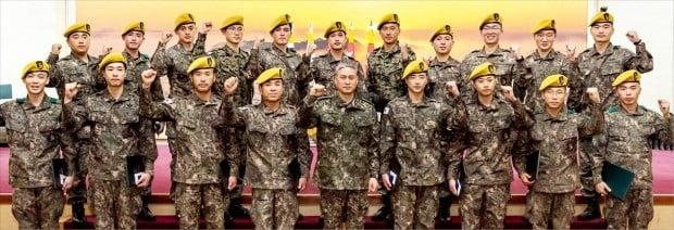 육군 최정예 전투원 '황금 베레모'