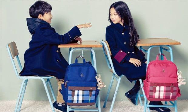 빈폴키즈, 초등학생 신학기 책가방 출시…가격도 무게도 쏙 뺀 '라이트 캐주얼 백팩'