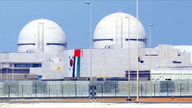 한국전력이 아랍에미리트(UAE)에 건설하는 바라카 원전 1호기. 한전과 한국수력원자력은 2009년 바라카 원전 건설을 수주한 데 이어 2016년에는 60년 장기 운영권까지 확보했다.  /한경DB