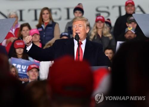 美중간선거 D-4…트럼프 vs 오바마, 마지막 주말유세 '대격돌'