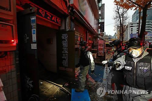 """고시원화재 '기러기 아빠' 생존자 """"한푼이라도 아끼려 장기투숙"""""""