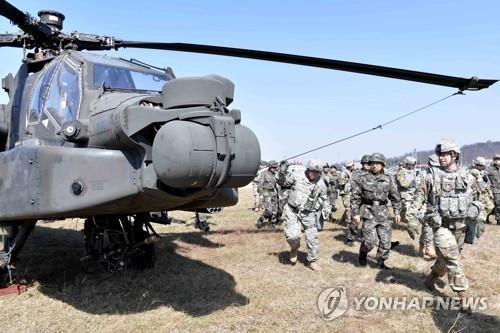美, 내년 독수리훈련 '축소'…전략무기 불참·상륙훈련 배제할듯