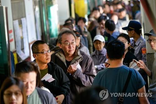 '차이니스 꼬리표 떼자' 대만 국민투표 종료…결과만 남아