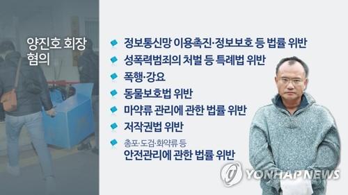 경찰, 양진호 음란물 유통 '방조범' 아닌 '공범' 판단 수사