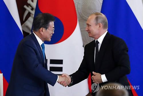 문대통령, 푸틴과 정상회담 돌입…한반도 비핵화 방안 논의