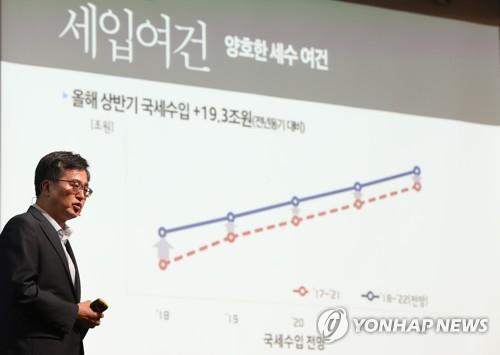 1∼9월 세금 26조원 더 걷혀…법인세 연간목표 초과 달성