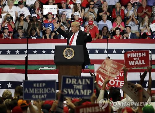 美 내일 중간선거…'트럼프 vs 反트럼프' 정면승부 펼친다