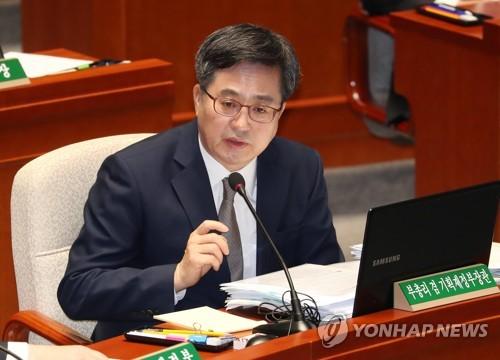 """'교체설' 김동연, 예결위서 """"국회에서 또 뵐 거다, 나중에"""""""