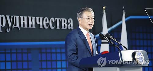 """문대통령 """"역사 물결은 지역서 시작…경북이 환동해권 물류중심"""""""