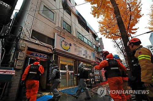 """'불이야' 소리에 아비규환…""""301호서 불길 시작 천장까지 번져"""""""