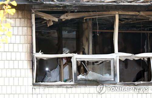 경찰, 고시원 화재원인 집중 조사…증거물·진술 정밀분석