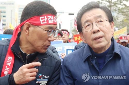 박원순 잇단 광폭행보…교통공사 국정조사, 대선가도 첫 '예선'