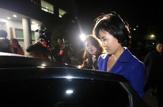 이재명 지사 부인 김혜경씨는 '혜경궁 김씨' 트위터 계정 소유주 논란과 관련해 지난 2일 경찰 조사를 받았다. / 사진=연합뉴스