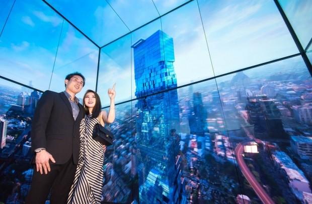 LG전자, 태국 78층 건물 엘리베이터에 '올레드 사이니지' 설치
