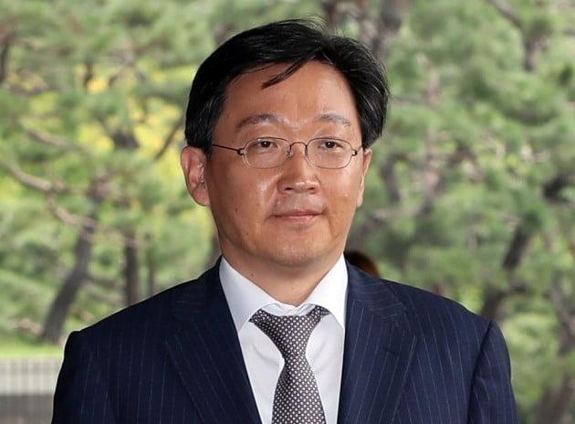 검찰 출석하는 곽병훈 전 청와대 법무비서관 [사진=연합뉴스]
