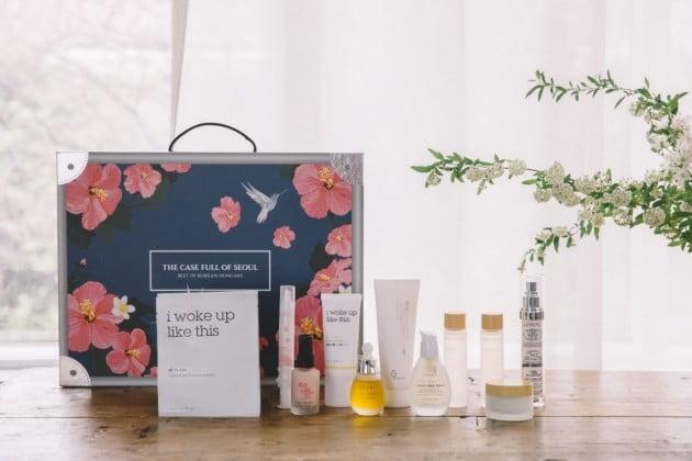 미국에서 선보여 100억원 이상의 매출을 올린 화장품 패키지 '큐레이션 박스'. /비투링크 제공