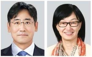 김명수 삼성물산 사장·윤심 삼성SDS 부사장