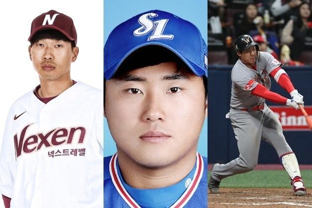 SK 김동엽·넥센 고종욱·삼성 이지영, '삼각 트레이드' /사진=넥센, 삼성 홈페이지, 연합뉴스