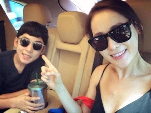 지승준과 윤혜원/사진=지승준 팬카페