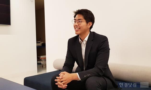 남성필 에어블록(AB180) 대표(사진=김산하 기자)