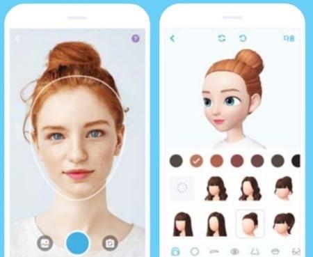 제페토 앱의 3D 아바타