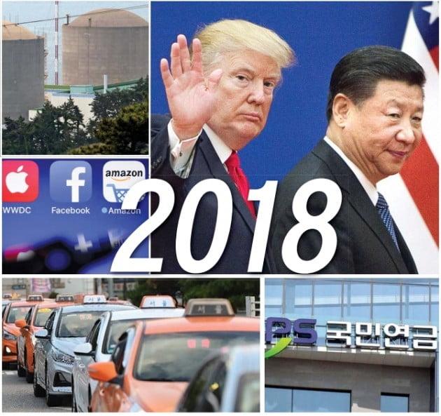 美·中 무역전쟁에 휘둘린 세계 경제…한국선 남북평화 '희망의 싹' 틔워