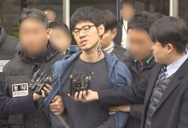 강서구 PC방 살인사건 피의자 김성수 [연합뉴스TV 제공]