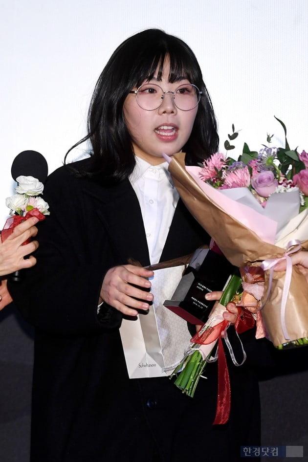 [포토] 김가희, '영화 '박화영' 모습과는 180도 다른 모습'(여성영화인축제)