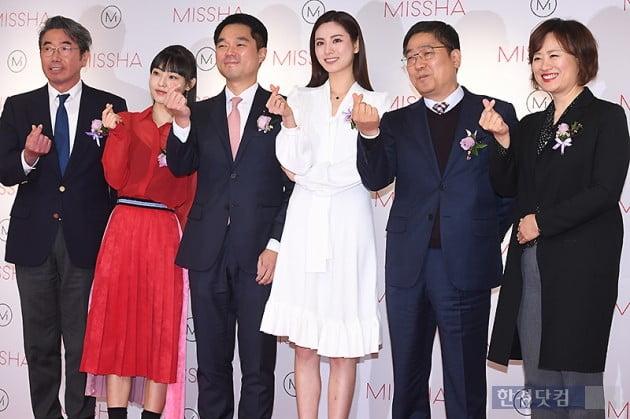 [포토] '미샤 메가 스토어' 오픈, 모델 나나, 전소니 참석