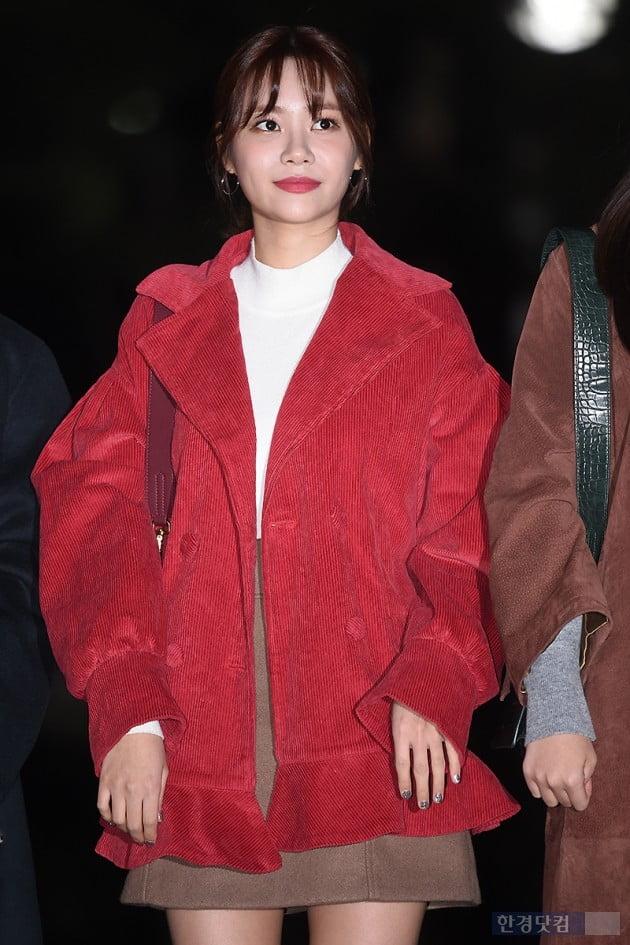 [포토] AOA 유나, '단아한 미모 뽐내며~'