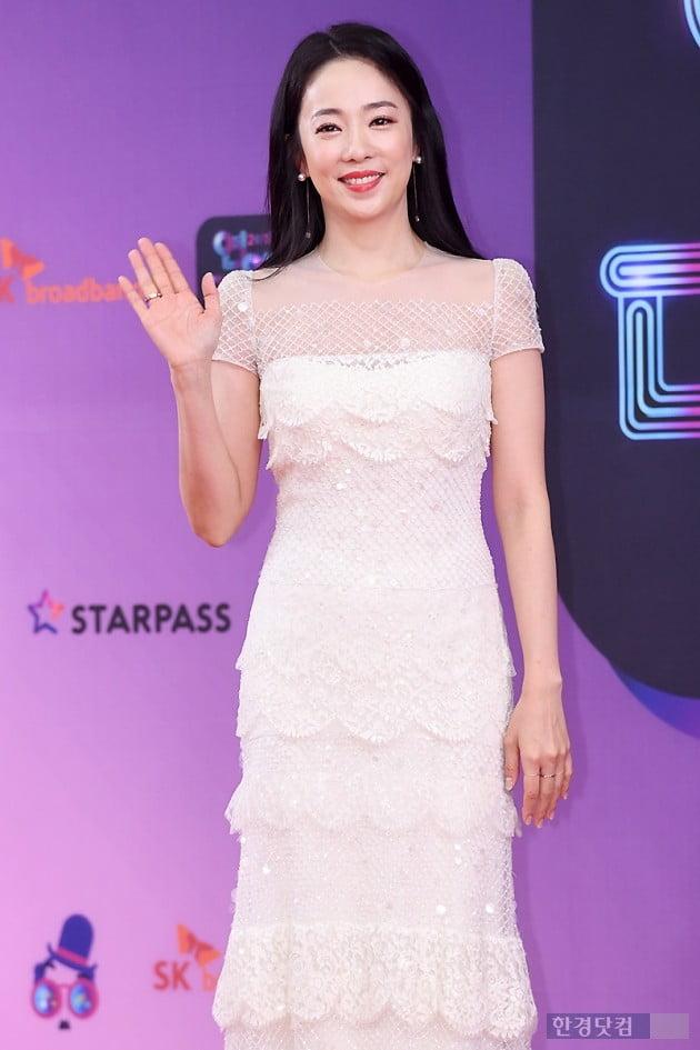 [포토] 박은영 아나운서, '사랑스러운 미소' (2018 KBS 연예대상)