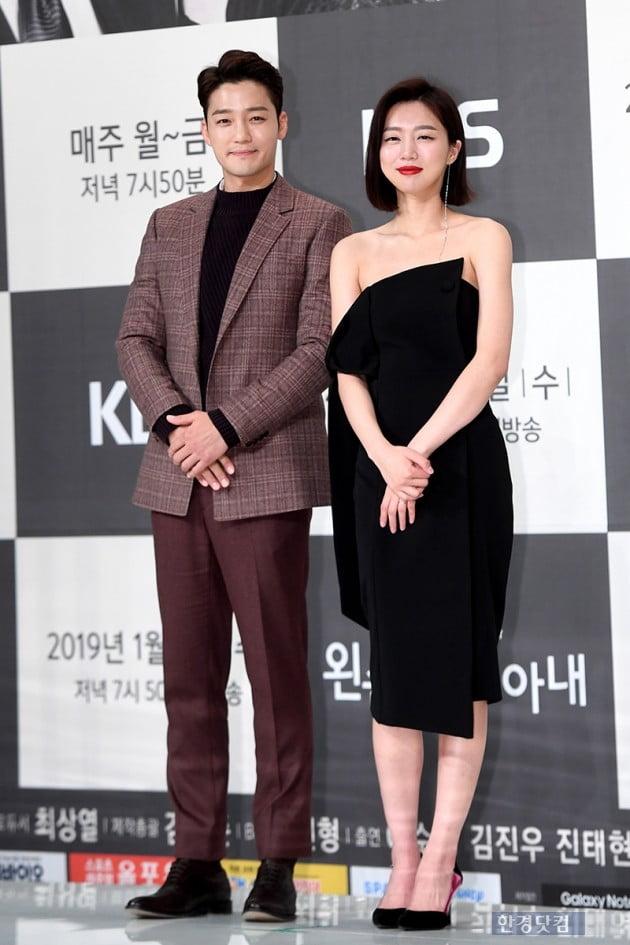 [포토] 김진우-하연주, '쌍둥이 포즈'