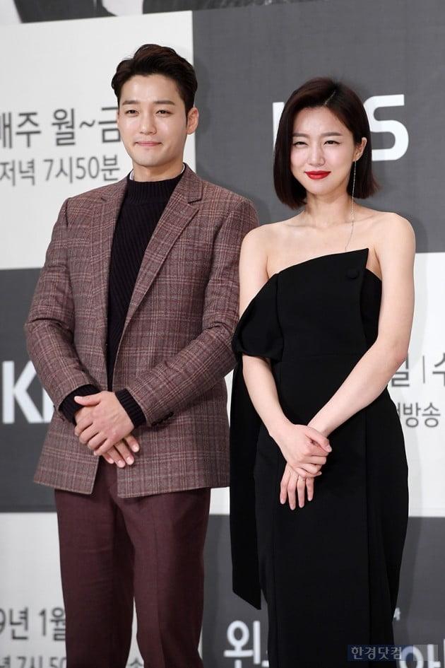 [포토] 김진우-하연주, '똑 닮은 포토타임'