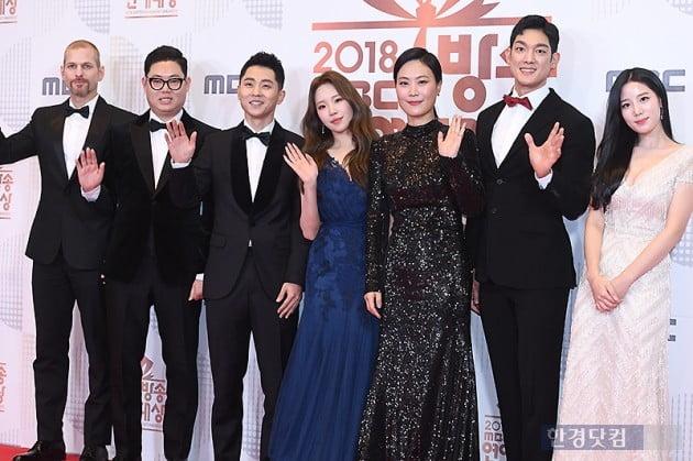 [포토] '진짜사나이 300' 사랑해 주세요~ (2018 MBC 방송연예대상)