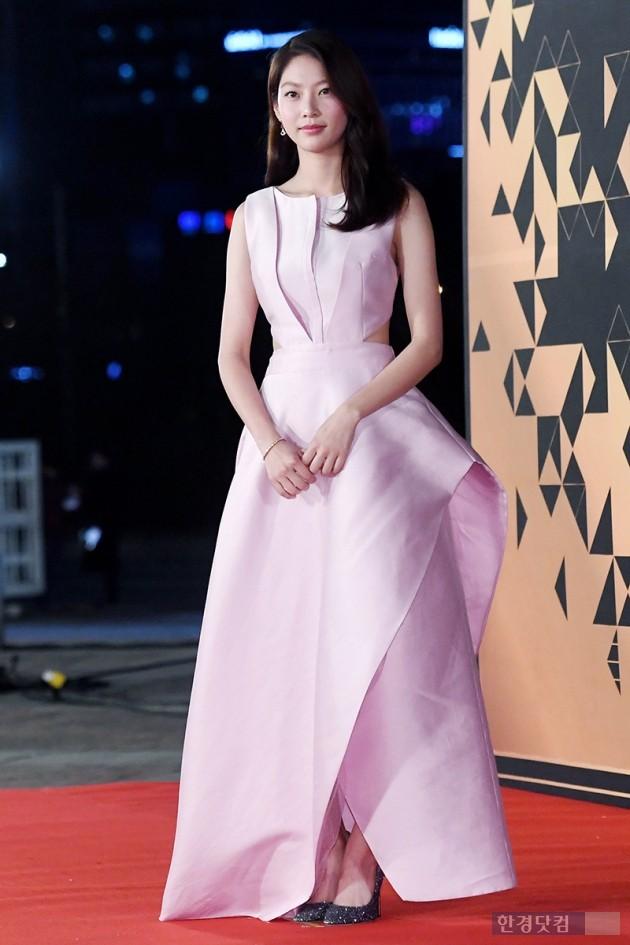 [포토] 공승연, '핑크색 장미처럼'(2018 KBS 연기대상)